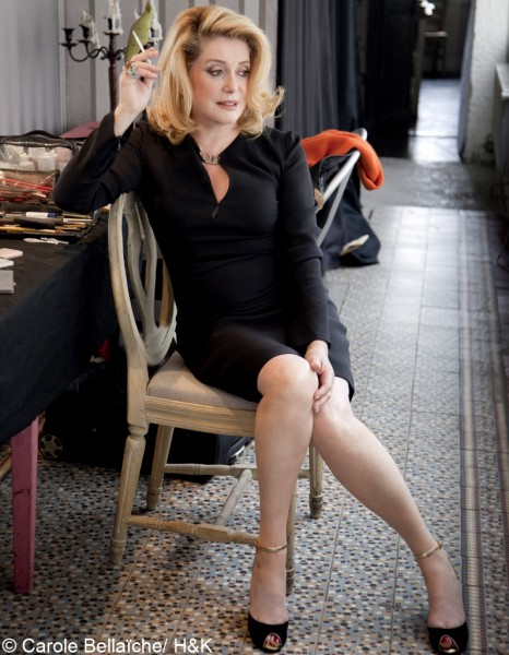 catherine deneuve reine du cin ma fran ais elle. Black Bedroom Furniture Sets. Home Design Ideas