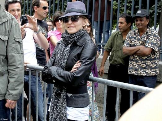 Culture cinema tournage paris Madonna 4
