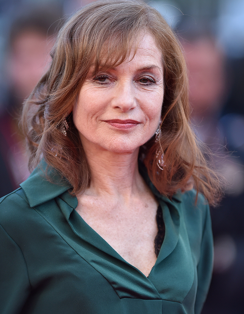 ISABELLE HUPPERT at 75th Annual Golden Globe Awards in