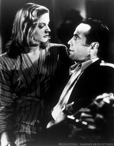 Humphrey Bogart et Lauren Bacall dans Le Port de l angoisse