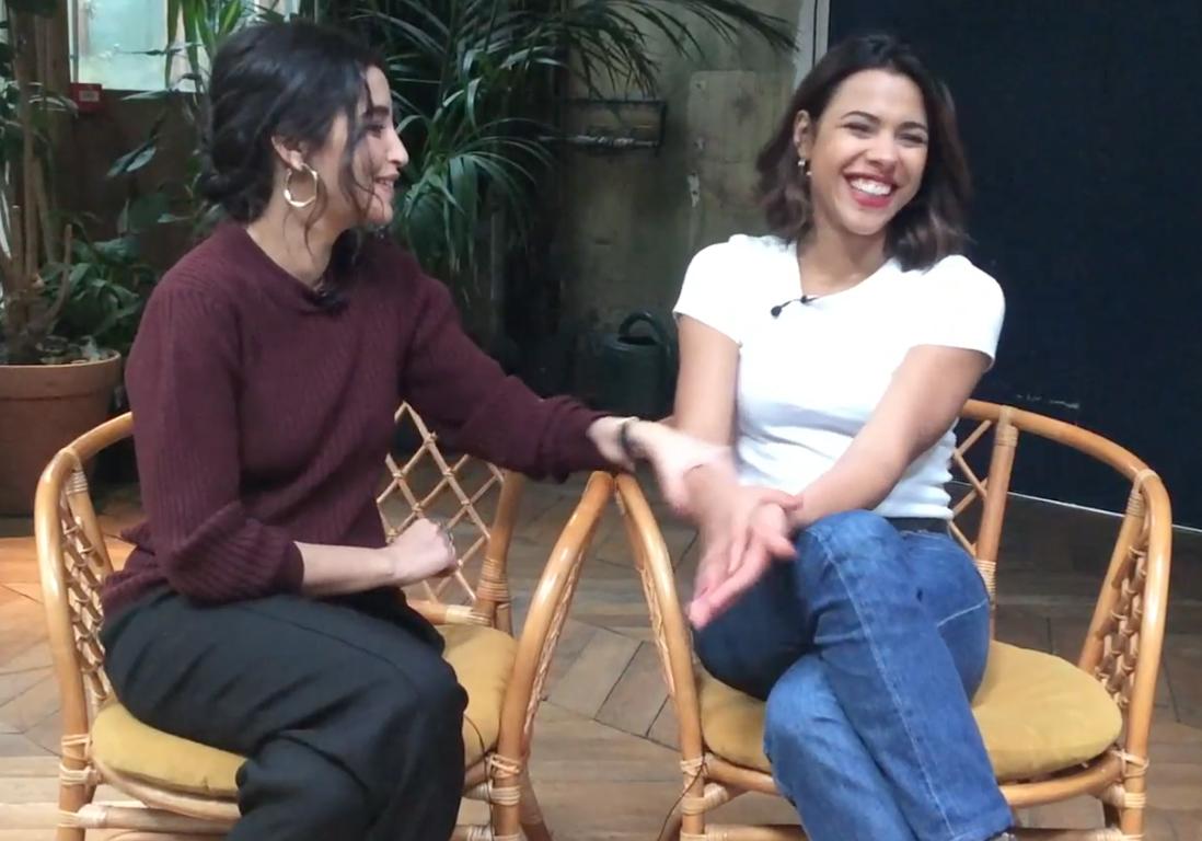 Rencontre avec Leïla Bekhti et Zita Hanrot, soeurs de cinéma dans «  Carnivores » - Elle 9a203e8ef62e