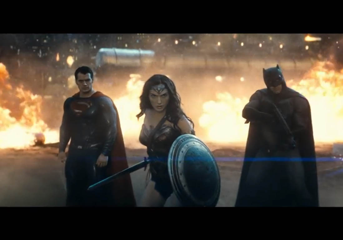 Batman V Superman : la nouvelle bande-annonce avec Wonder Woman - Elle
