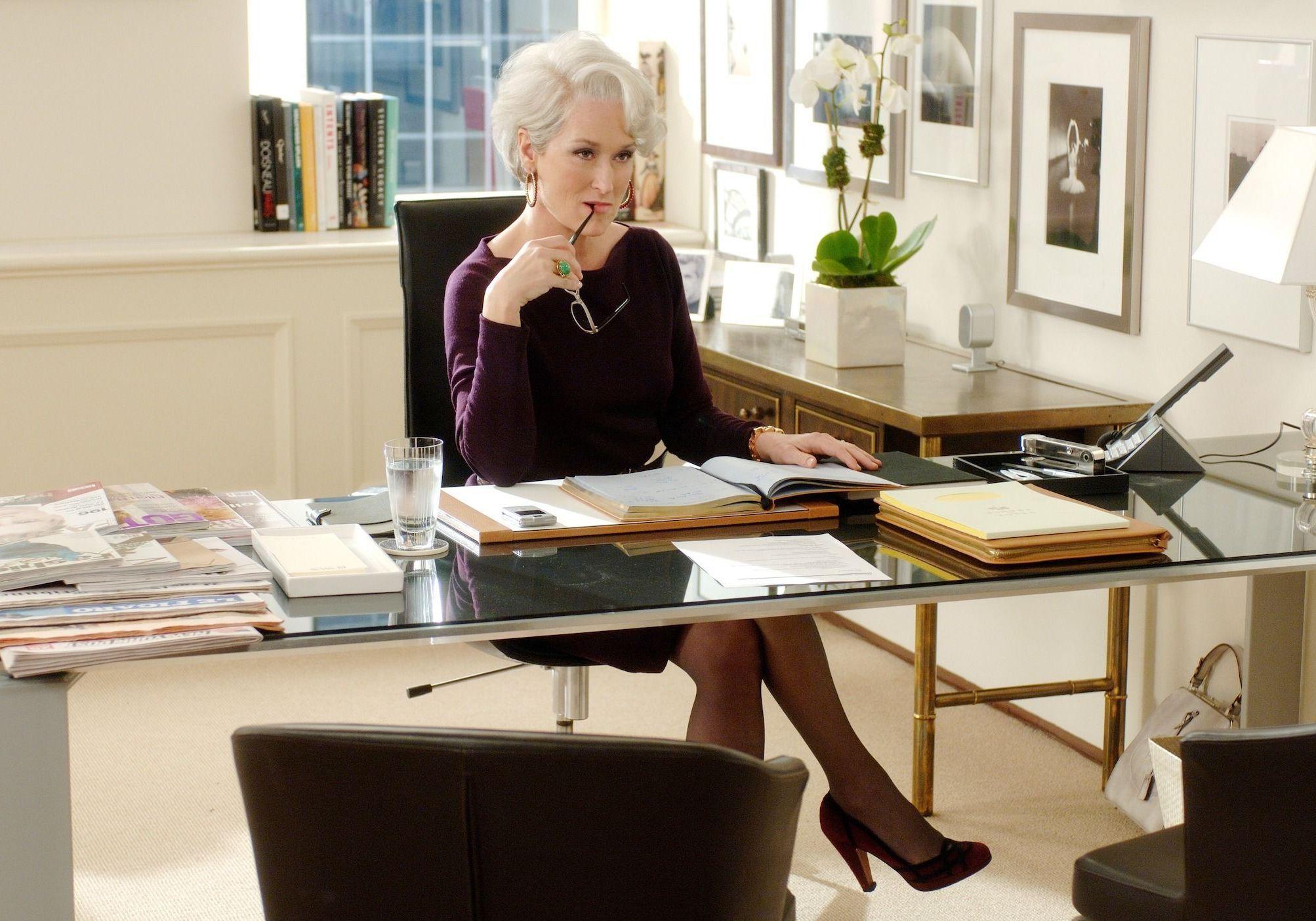 Le Diable s'habille en Prada : quel est ce point commun entre Miranda Priestly et Christine Lagarde ? - Elle