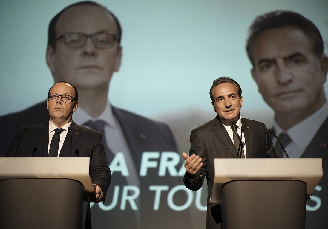 « Présidents », le film hilarant qui rejoue un face-à-face Hollande-Sarkozy - Elle
