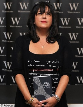 E.L James personnalite la plus importante de l edition
