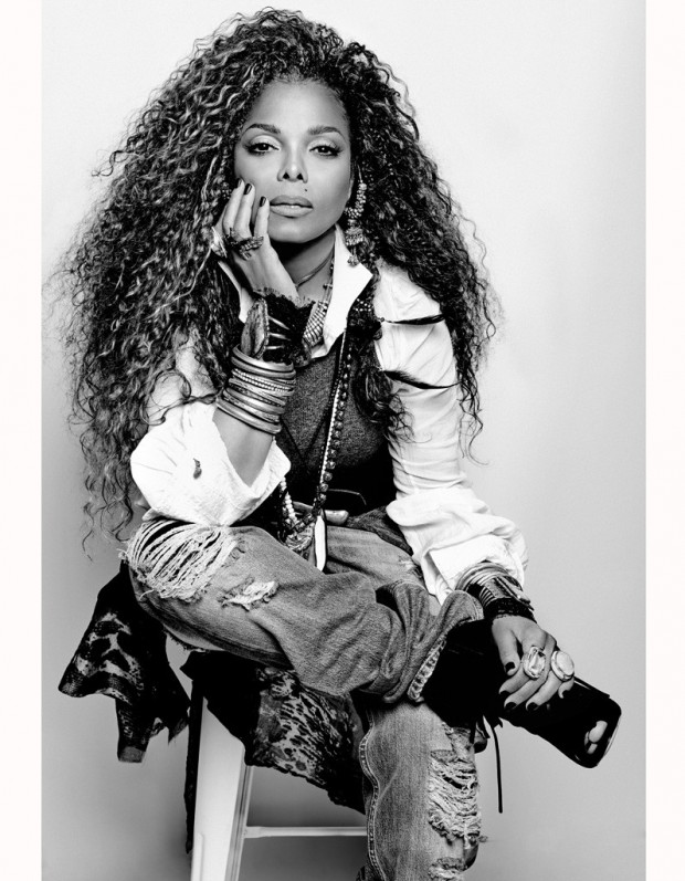 Janet Jackson: discover the scenes of the photo shoot of his new album