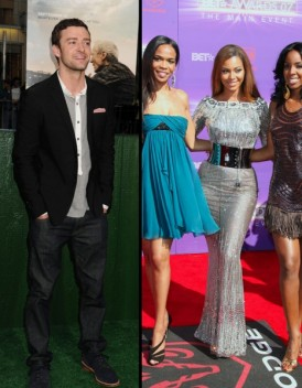 Les Destiny s Child et Justin Timberlake s offrent un come back