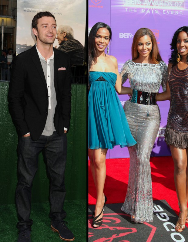 Les Destiny's Child et Justin Timberlake s'offrent un come-back !