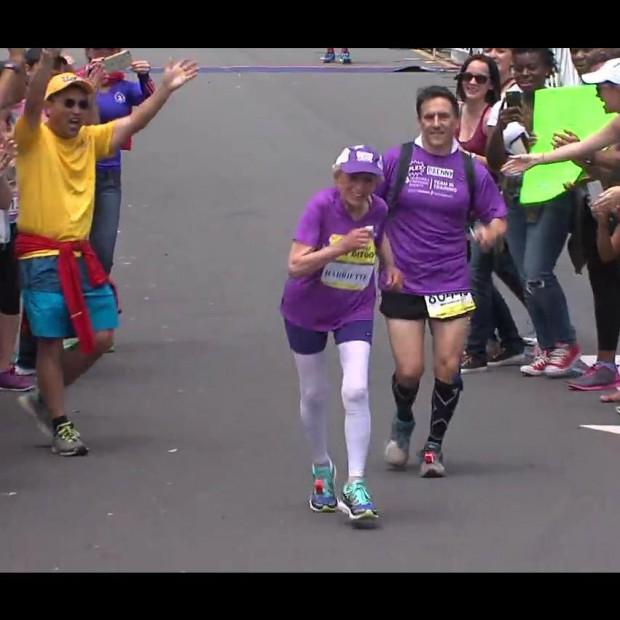 #PrêtàLiker : A 92 ans, elle termine le marathon de San Diego