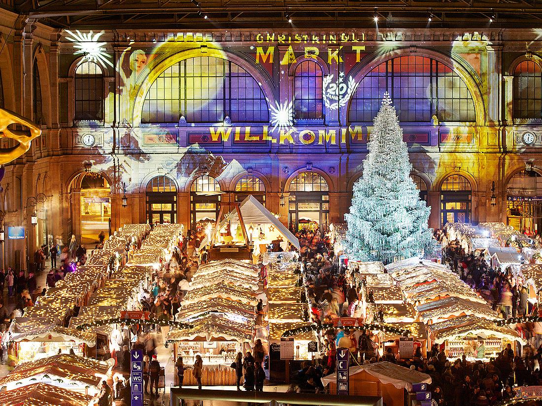 marché noel zurich 2018 Le plus couvert : le marché de Noël de Zurich   Les plus beaux  marché noel zurich 2018