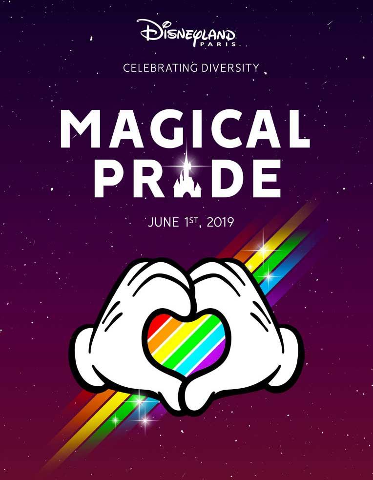 Disneyland Paris célèbre la diversité avec la Magical Pride