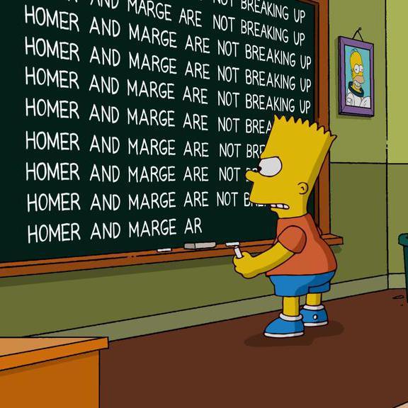 Non Marge Et Homer Simpson Ne Divorceront Pas Elle