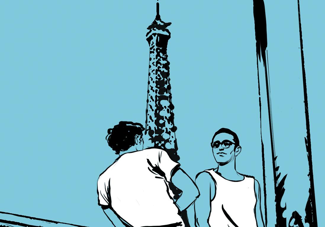 C'est mon histoire d'été : divadorable sous pluie parisienne - Elle