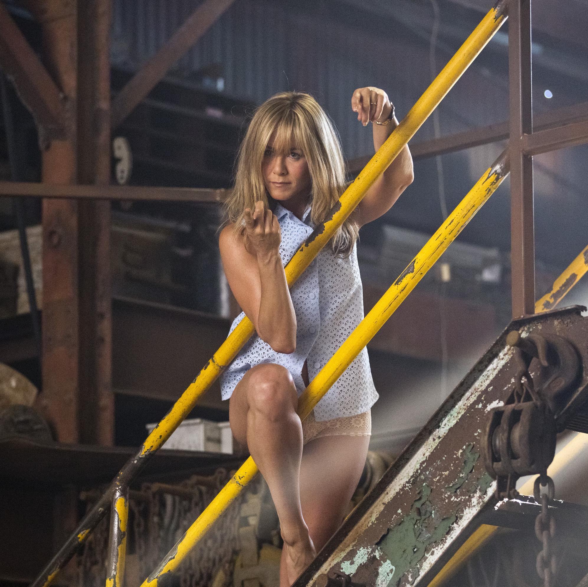 Jennifer Aniston dans « Les Miller, une famille en herbe