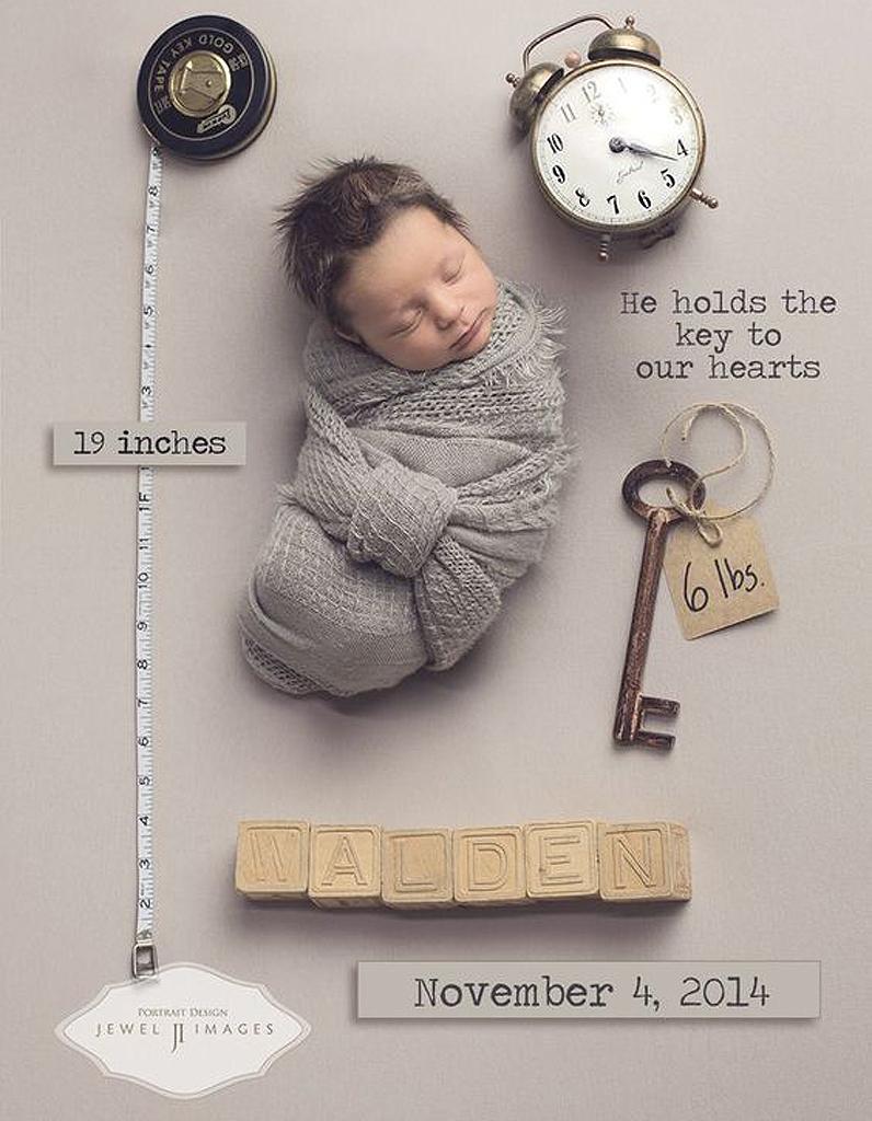 15 Faire Part De Naissance Presque Aussi Beaux Que Votre Bébé Elle