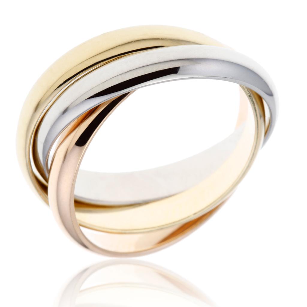 le manege a bijoux bague or blanc