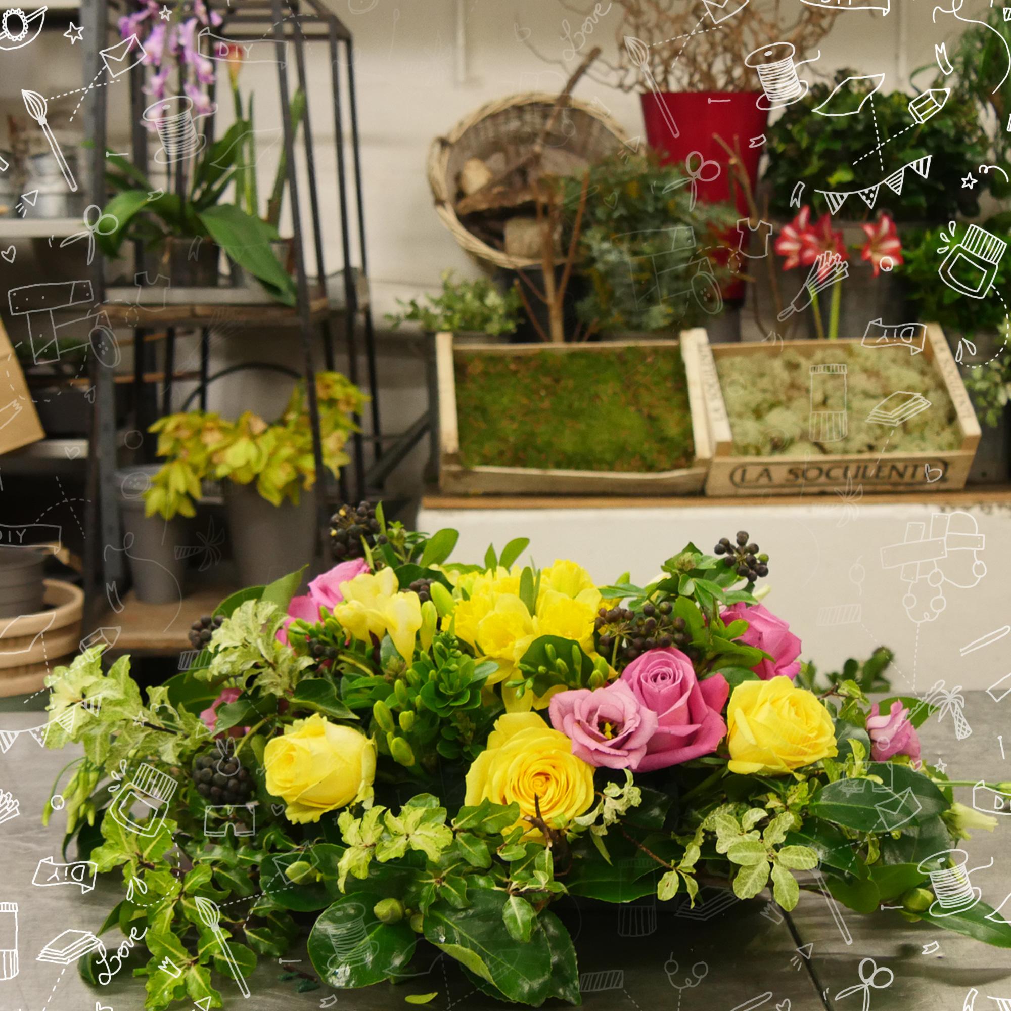 #DIY : Comment faire un centre de table fleuri ?