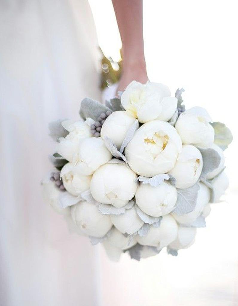 Bouquet de fleurs blanches : les plus beaux bouquets de fleurs blanches -  Elle