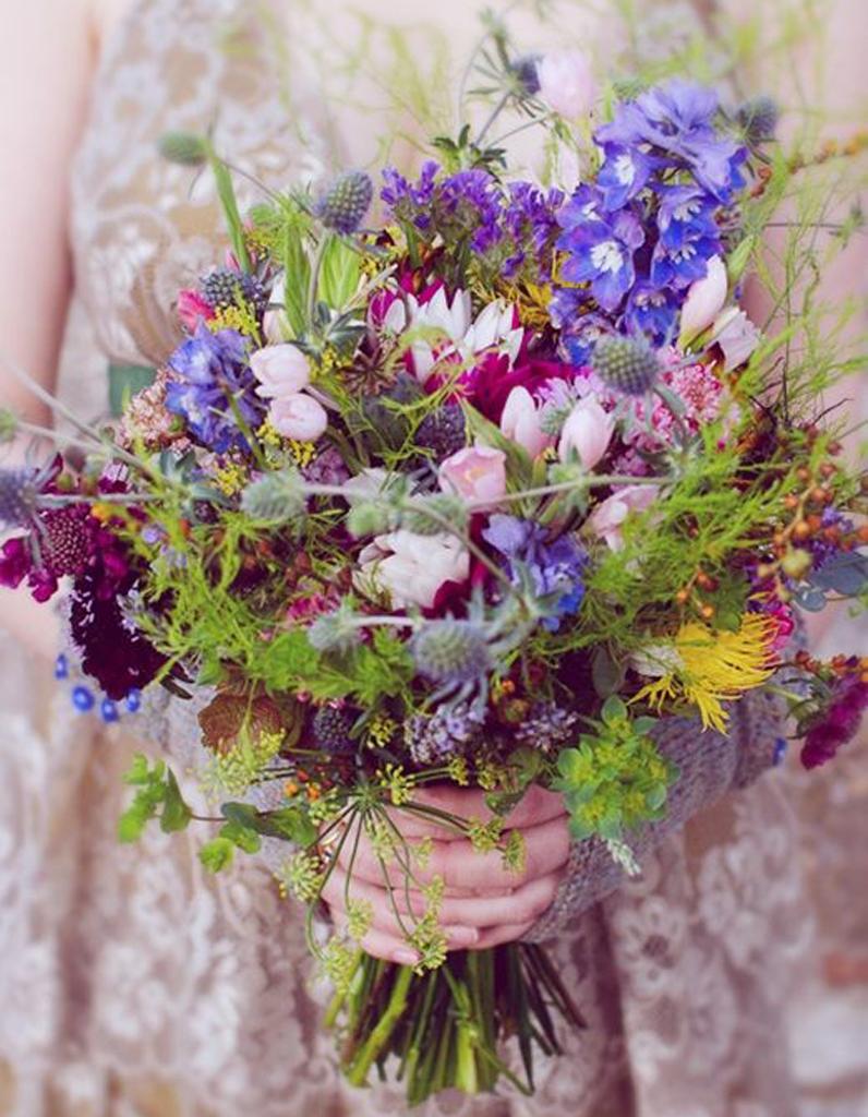 Bouquet de mari e champ tre 20 beaux bouquets de mari e for Bouquet de fleurs lumineux