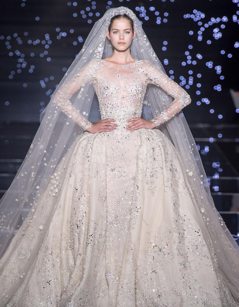 48b23223222 24 mariées haute couture - Elle