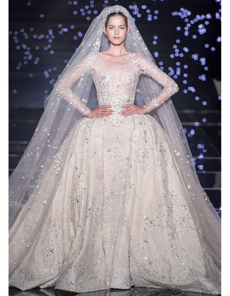 0a1c45f03e4 Robe de mariée Zuhair Murad haute couture automne-hiver 2015 2016 - 24 mariées  haute couture - Elle