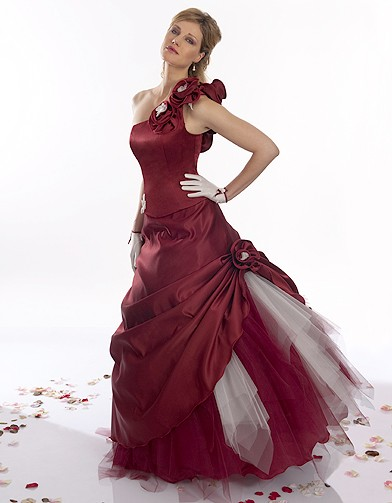 1000+ images about Wedding Dresses- Red on Pinterest