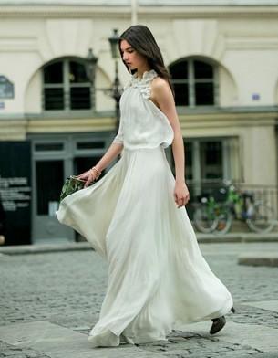 Robe blanche Chloe