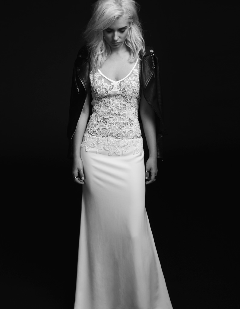 Robe de mariée rock Rime Arodaky - 100 robes