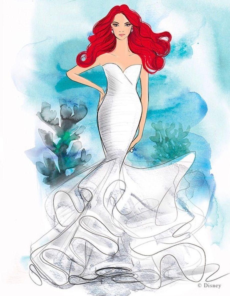 Disney Lance Enfin Une Collection De Robes De Mariee Elle