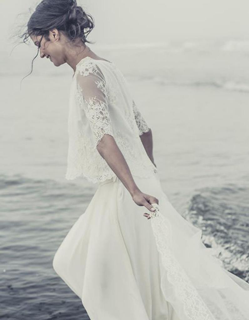 Robe de mari e de princesse dentelle de calais 66 robes for Photos de dysfonctionnement de robe de mariage