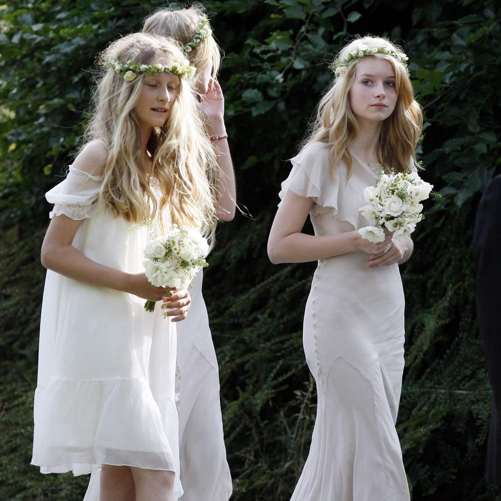 Robe Demoiselle D Honneur Les Plus Belles Robes De Demoiselle D Honneur Dans Les Mariages De Stars Elle