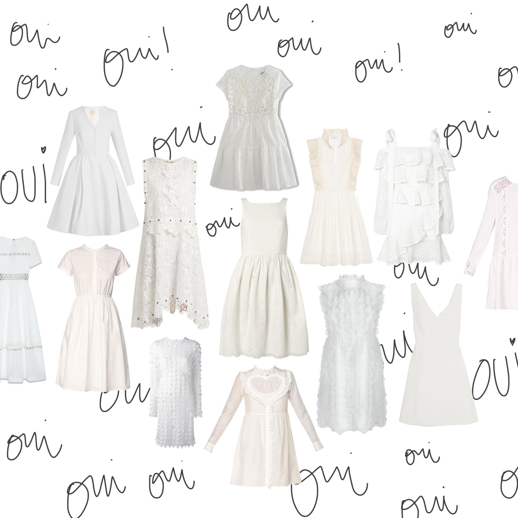 robe mariage civil 20 robes parfaites pour un mariage civil elle. Black Bedroom Furniture Sets. Home Design Ideas