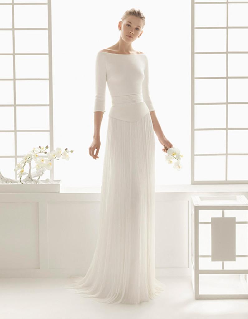 Robe de mariée d\u0027hiver simple , 22 robes de mariée d\u0027hiver éblouissantes ,  Elle