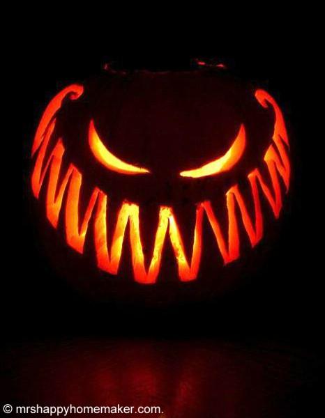 Modele citrouille halloween qui fait peur - Recettes d halloween qui font peur ...