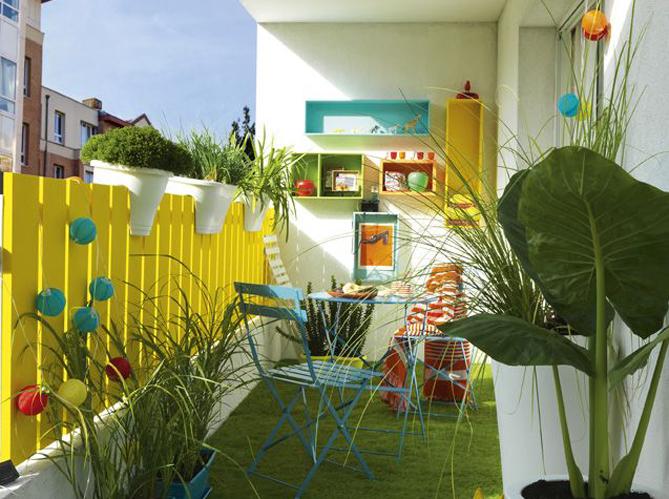 5 astuces pour profiter de son balcon l 39 hiver elle d coration. Black Bedroom Furniture Sets. Home Design Ideas