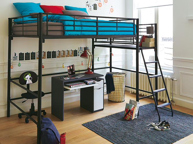 Chambre ado 5 conseils pour une chambre d39ado qui leur for Canapé 3 places pour deco chambre garcon ado