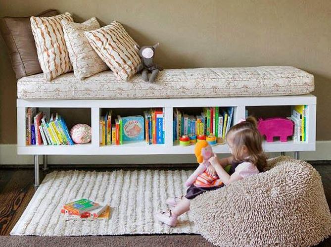 5 fa ons d 39 utiliser la banquette elle d coration. Black Bedroom Furniture Sets. Home Design Ideas