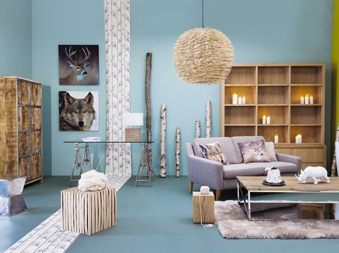 deco chambre scandinave bleu. Black Bedroom Furniture Sets. Home Design Ideas