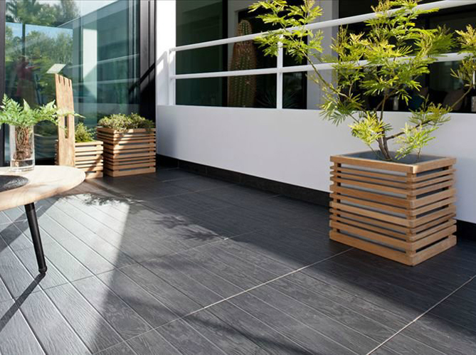 revetement terrasse excellent tapis de pierre with revetement terrasse fabulous revtement sol. Black Bedroom Furniture Sets. Home Design Ideas