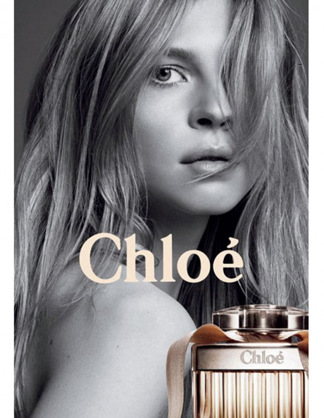 Affiche parfum Chloe Clemence Poesy