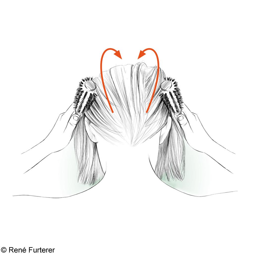 Lhuile volatile du cyprès pour les cheveux