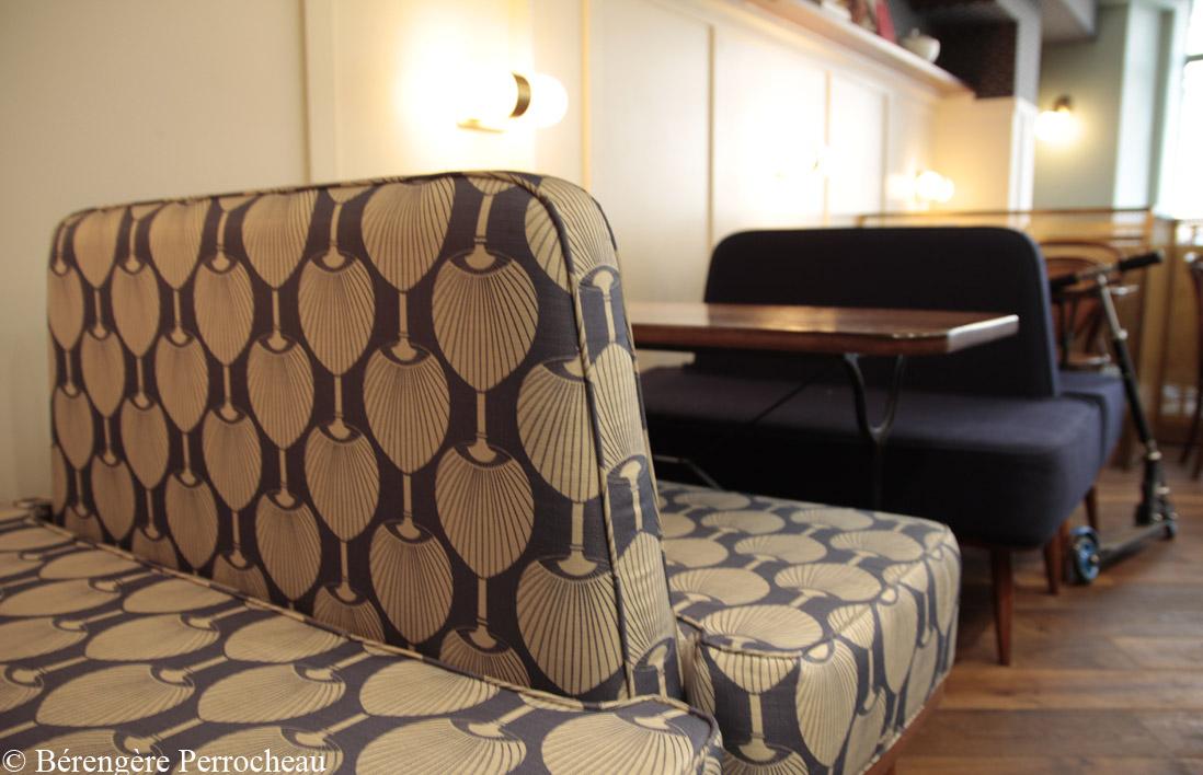 banquette bistrot design home design ideen. Black Bedroom Furniture Sets. Home Design Ideas