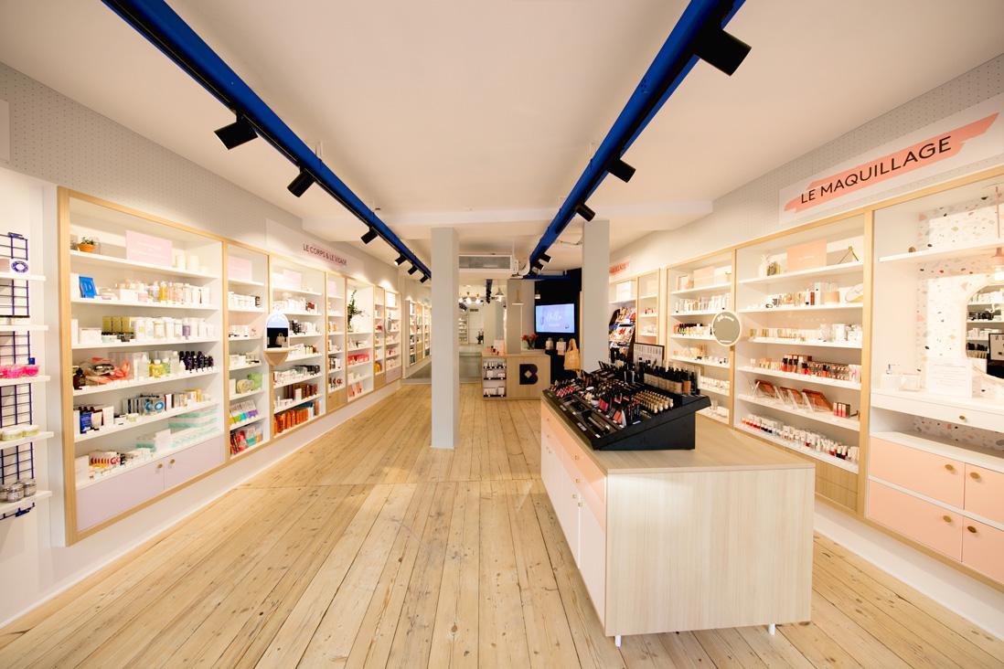 ellebeautyspot la premi re boutique permanente en europe de birchbox a ouvert ses portes elle. Black Bedroom Furniture Sets. Home Design Ideas