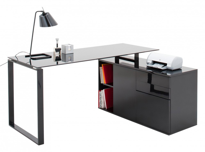 bureaux 5 id es astucieuses pour gagner de la place elle d coration. Black Bedroom Furniture Sets. Home Design Ideas