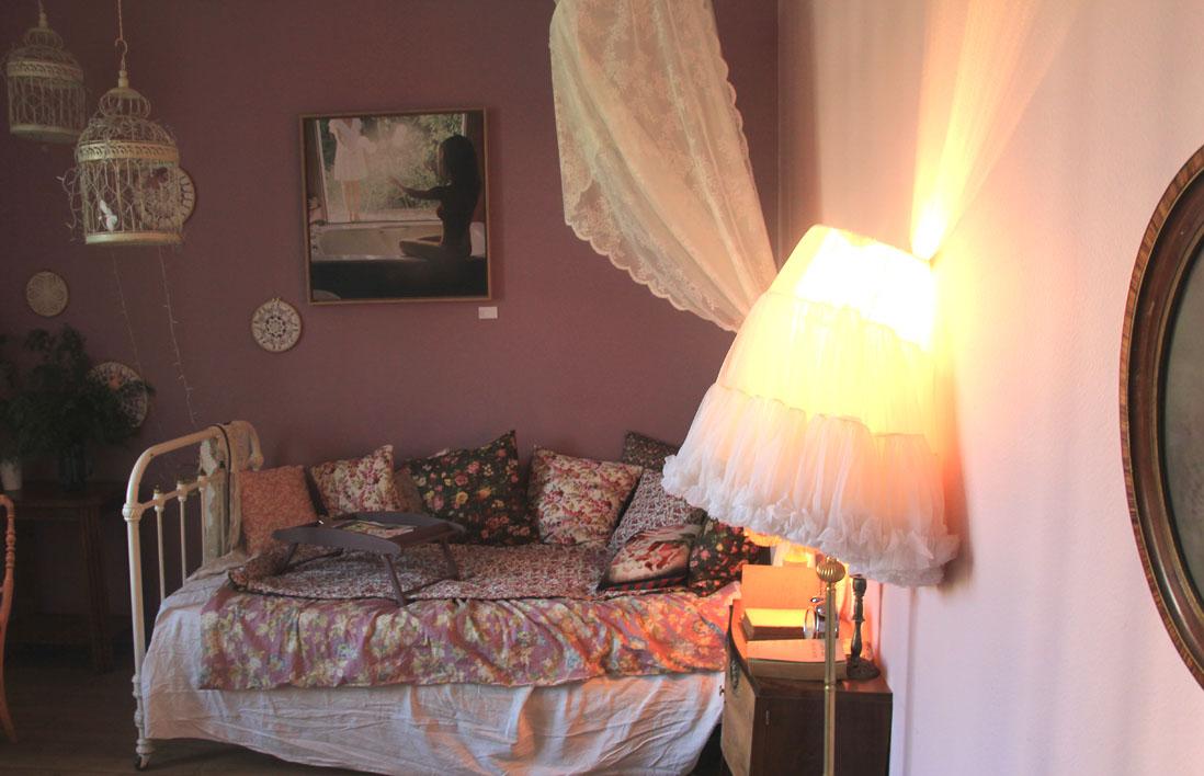 Le pavillon des canaux une d co comme la maison elle - Chambre toute rose ...