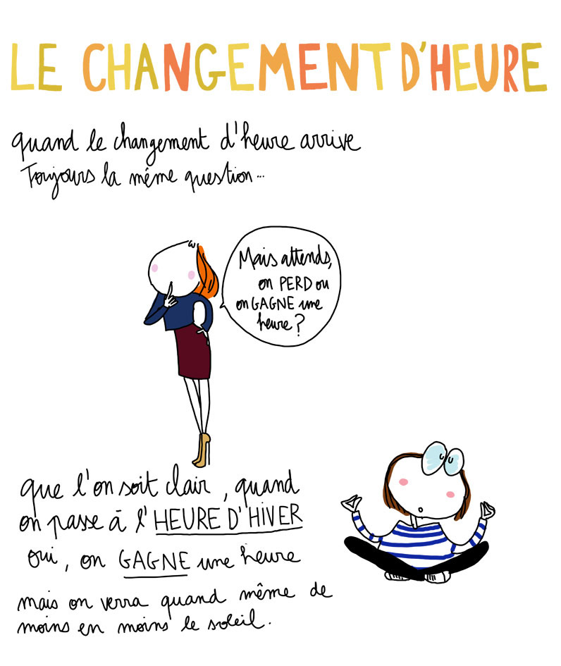 Image Result For Changement D Heure