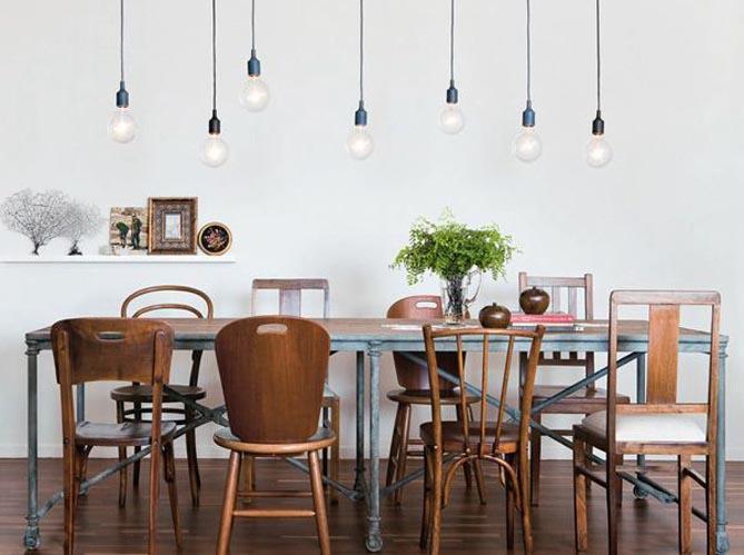 comment bien associer des chaises d pareill es elle. Black Bedroom Furniture Sets. Home Design Ideas
