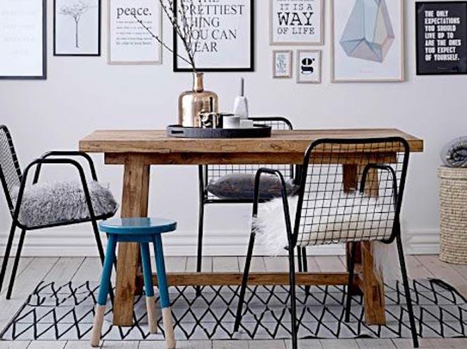 comment bien associer des chaises d pareill es elle d coration. Black Bedroom Furniture Sets. Home Design Ideas