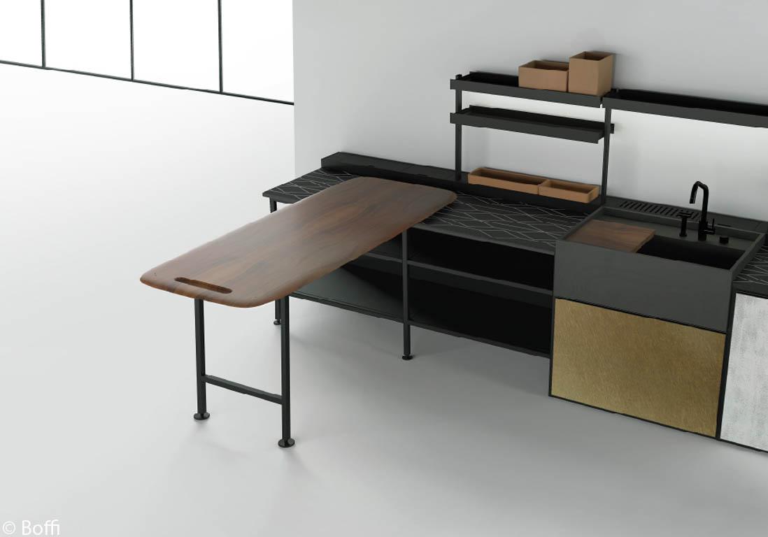 Am nager une cuisine design les 10 commandements d 39 une cuisine design - Table cuisine modulable ...