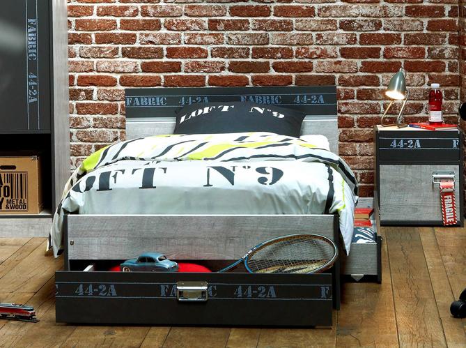 deco loft pour ado urbain image - Chambre Ado Garcon Style Industriel